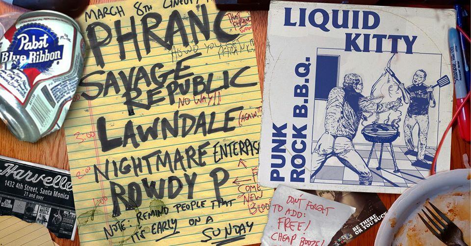 Liquid Kitty Punk Rock BBQ