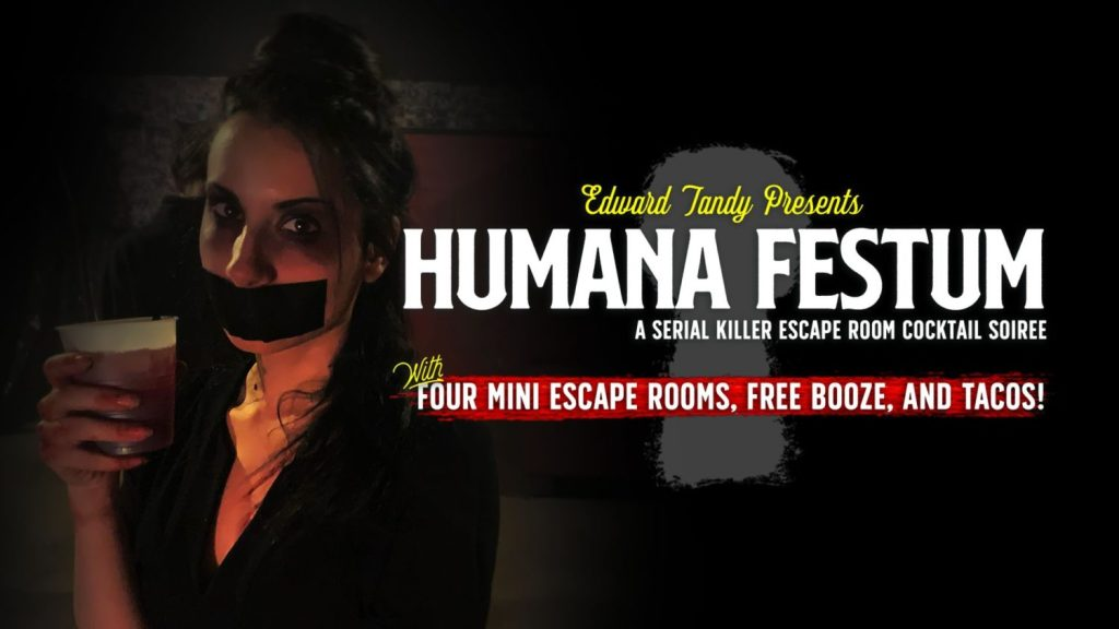 The Basement: A Live Escape Room Experience presents HUMANA FESTUM