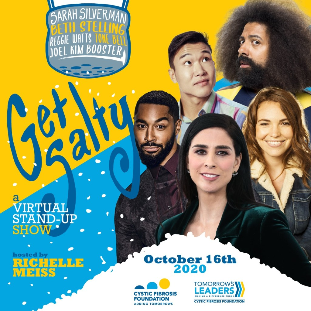 Get Salty!  Comedy for The Cystic Fibrosis Foundation