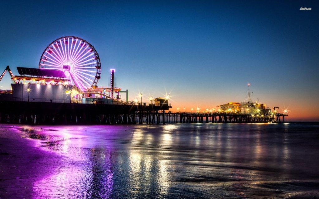 Outdoor Salsa Class at Santa Monica Pier