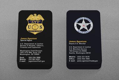 Interior design business cards