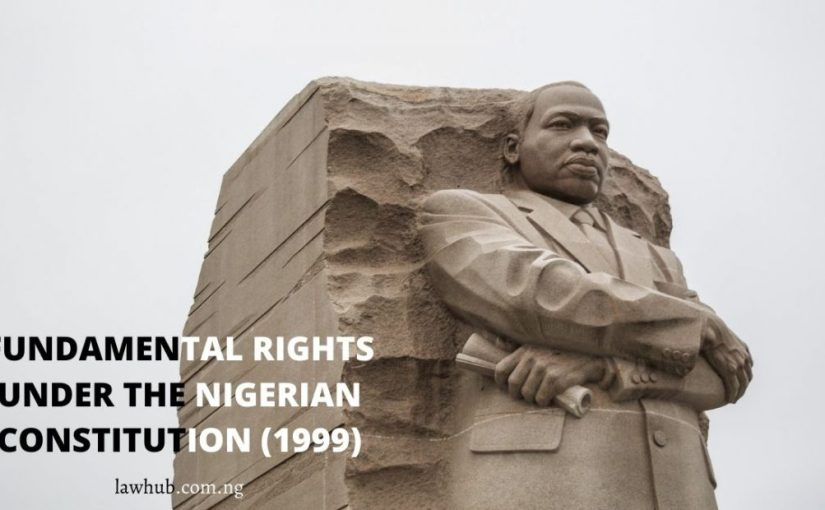Human Rights Under the Nigerian constitution 1999