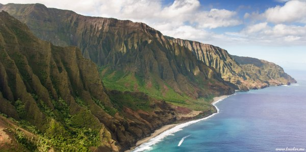 Na Pali Coast Kauai - Hawaii Free Landscape Screensaver' Lawlors Landscapes