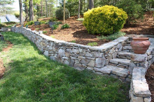 retaining walls asheville weaverville