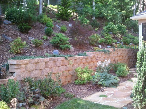 Concrete Landscape Retaining Wall Blocks