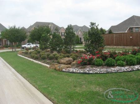 Design by Lawn and Landcare, Landscaping Company in Frisco TX
