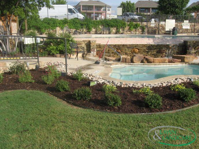 Pool landscaping companies in Coppell TX