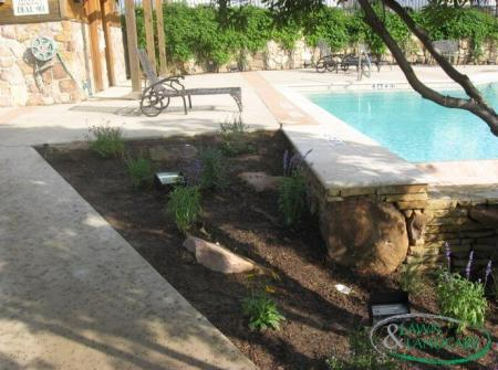 Landscaping design in Lewisville TX