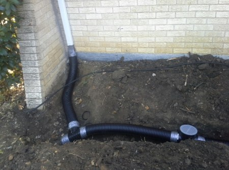 French Drain Residential