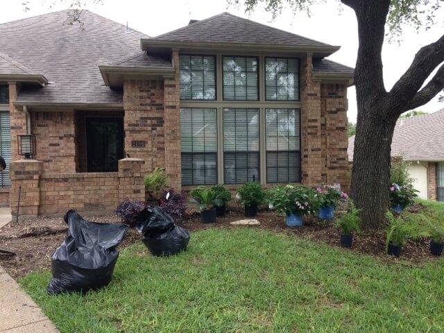 landscaping design carrollton texas