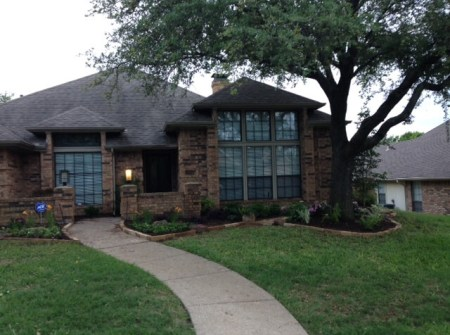 carrollton texas landscaping example
