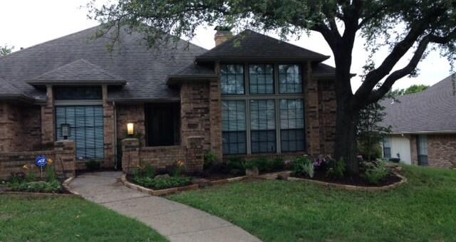 carrollton texas landscaping example