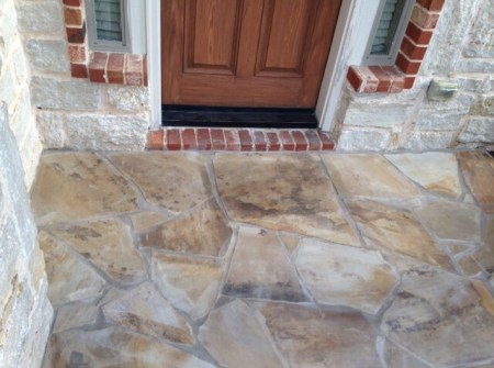 clean brick, tile, slate examples for dallas masonry