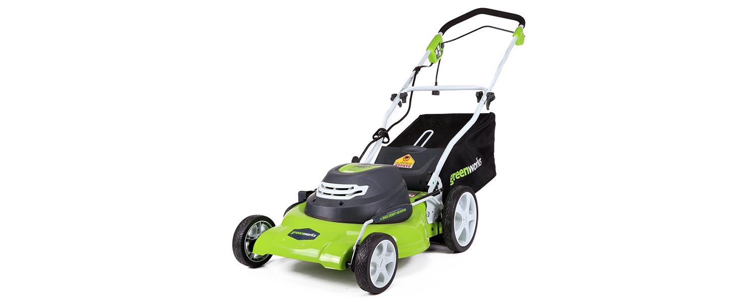 greenworks 25022 corded 20