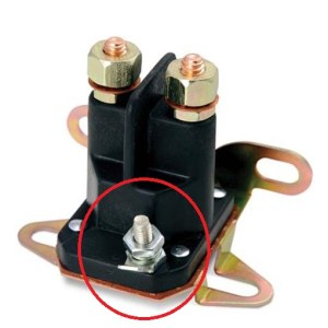 four post solenoid ignition terminal