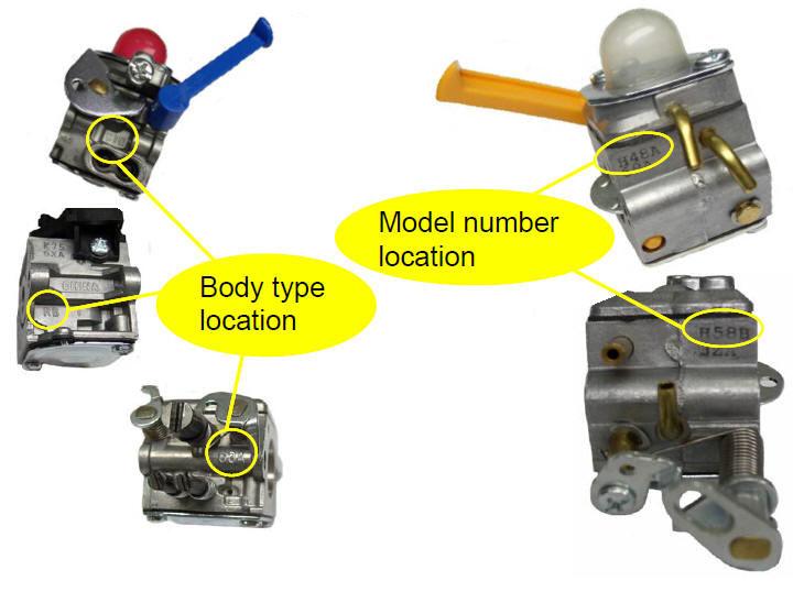 Zama Model Number Model Number Location