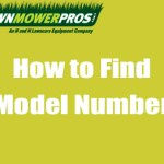 How to find model number