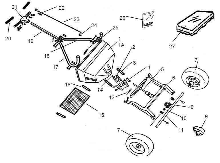 Shindaiwa 76RS Spreader Illustrated Parts Diagrams Online