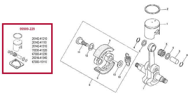 Shindaiwa 22F Trimmer Illustrated Parts Diagrams