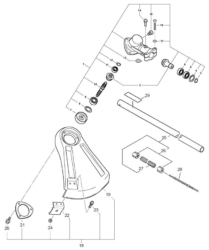 ECHO 99944200545 Parts Diagram SN S08900001001-S08900999999