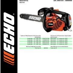 Echo Pole Saw Parts Diagram Telecaster 3 Pickup Wiring Cs 330t Chainsaw Sn 09001001 09999999 Page 1