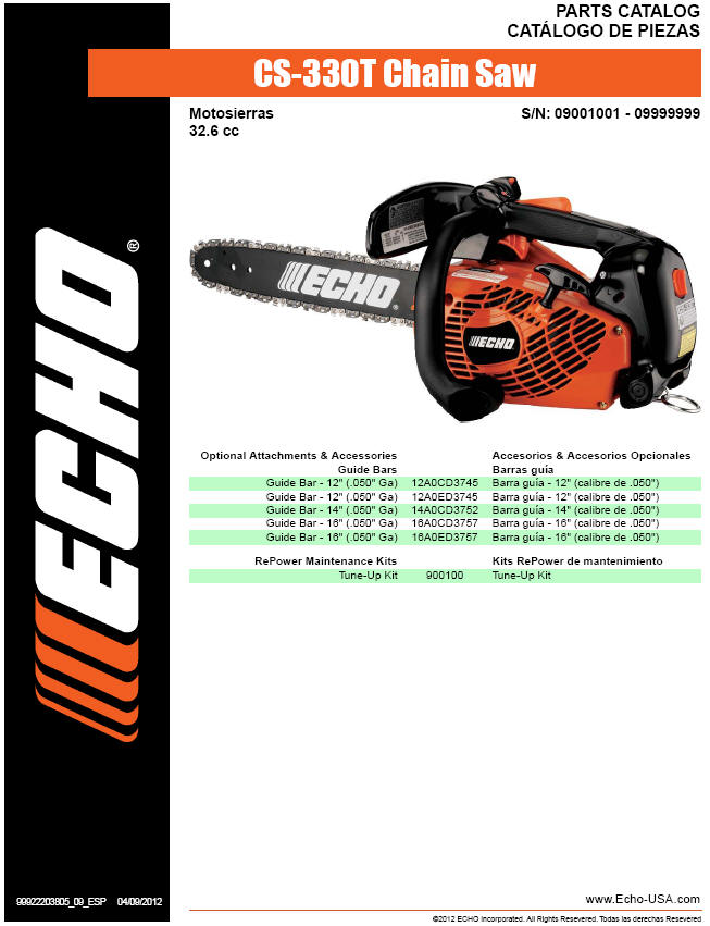 echo pole saw parts diagram building electrical installation wiring cs 330t chainsaw sn 09001001 09999999 page 1