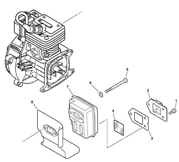 ECHO GT-230 Trimmer Parts Diagram Serial Number
