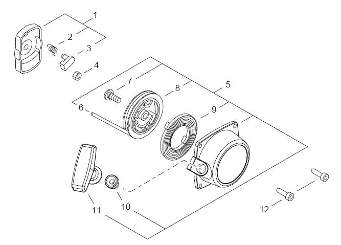 ECHO PB-250 Blower Parts Diagram Serial Number