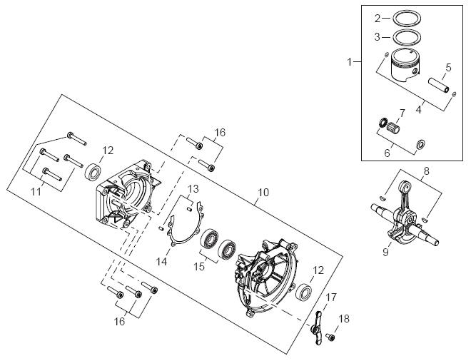 ECHO PB-770T Blower Parts Diagram Serial Number