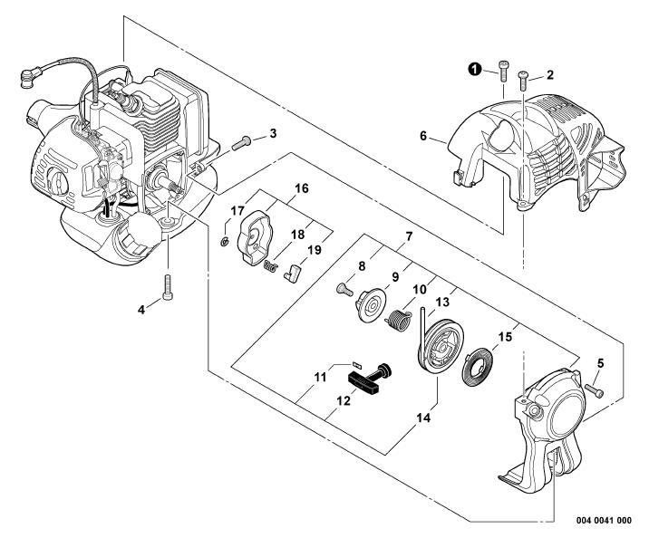 ECHO PE-225 Edger Parts Diagram SN S78712001001-S78712999999