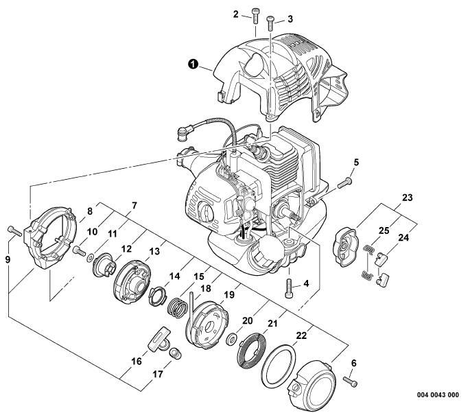 Starter Rope Troy Bilt Tiller Diagram