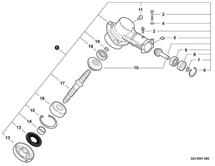 ECHO SRM-230 Trimmer Parts Diagram Serial Number
