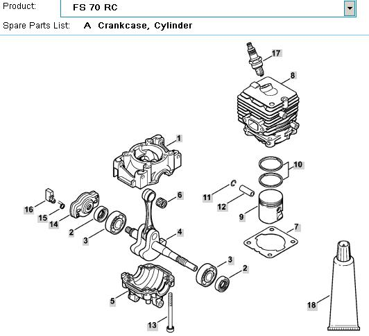 stihl fs90r fuel filter replacement