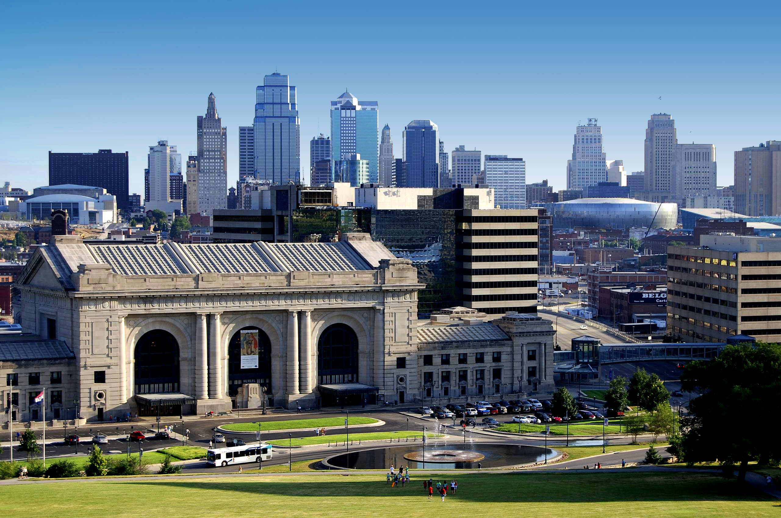 Where are the new residents of Kansas City, MO moving from?