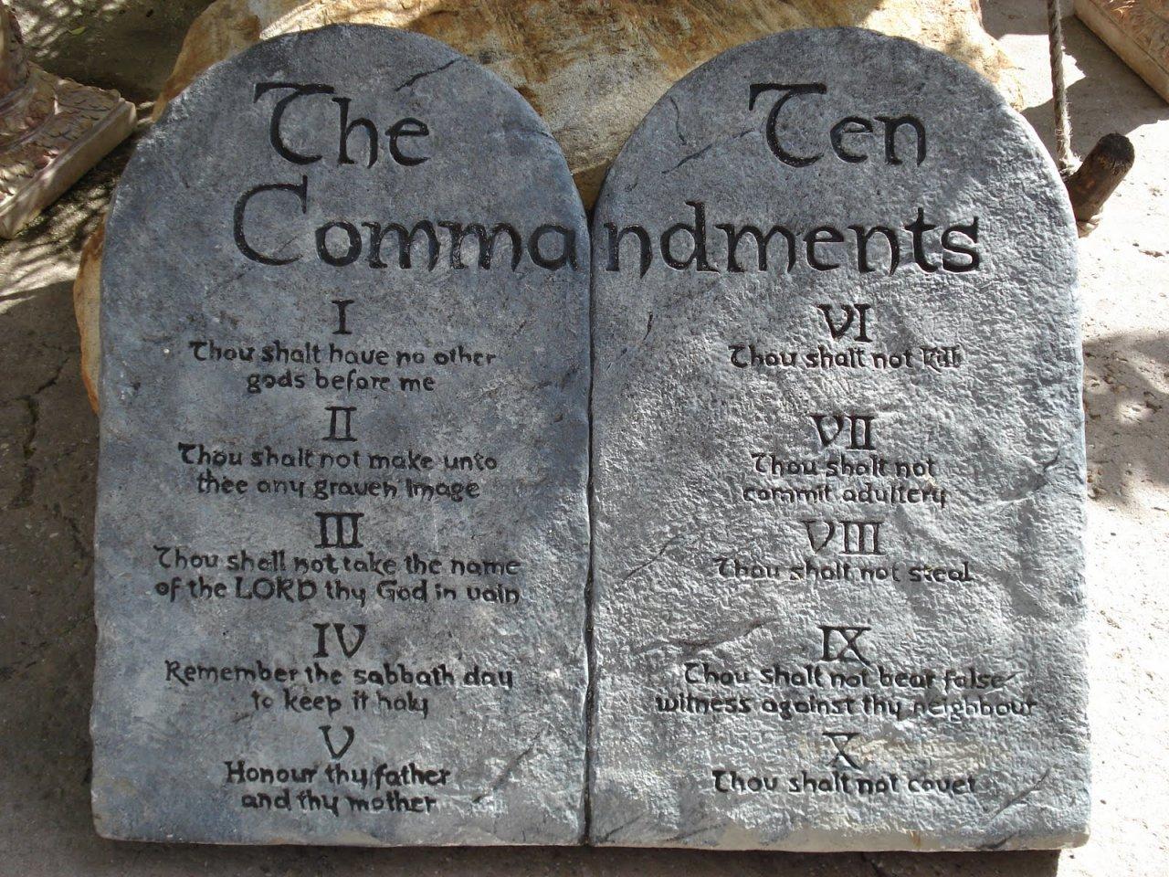 The Negative Origin Of The Ten Commandments