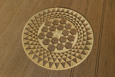 Crop Circle, Sugar Hill - Cubes