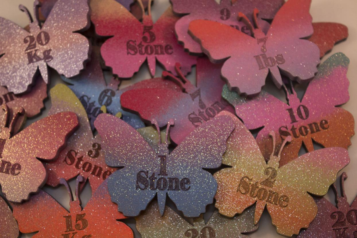 butterfly shape magnetic stone losses