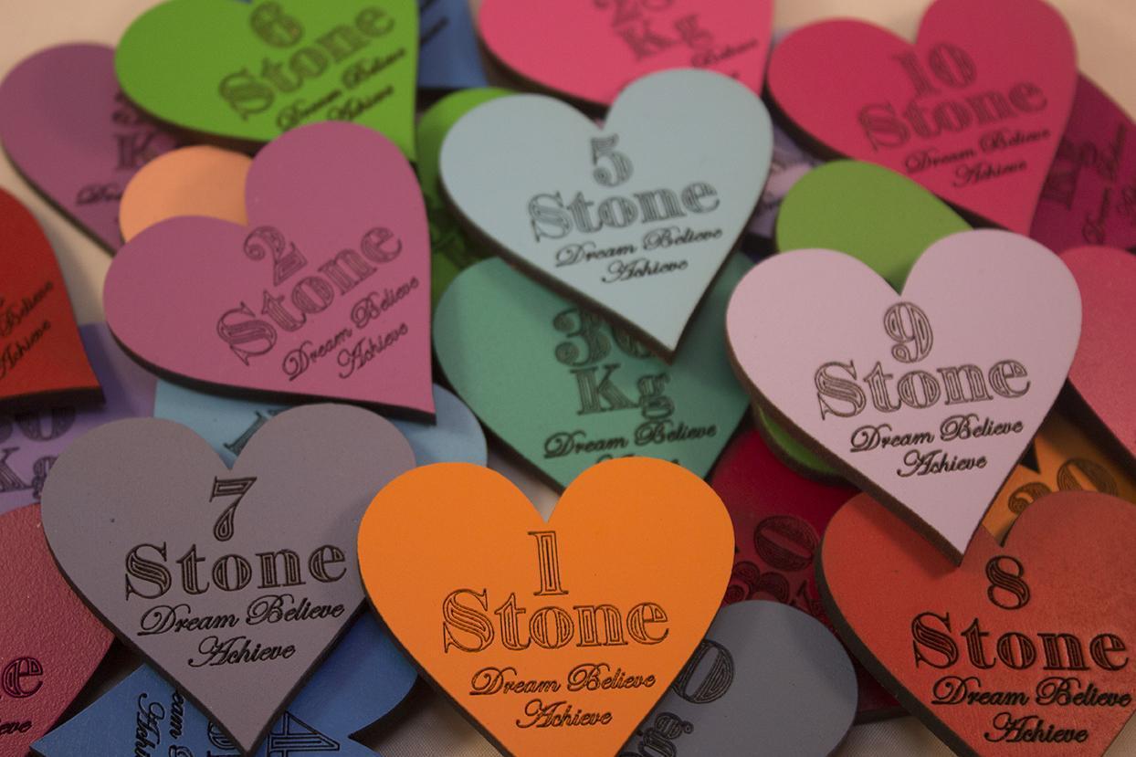 heart shape magnetic stone losses