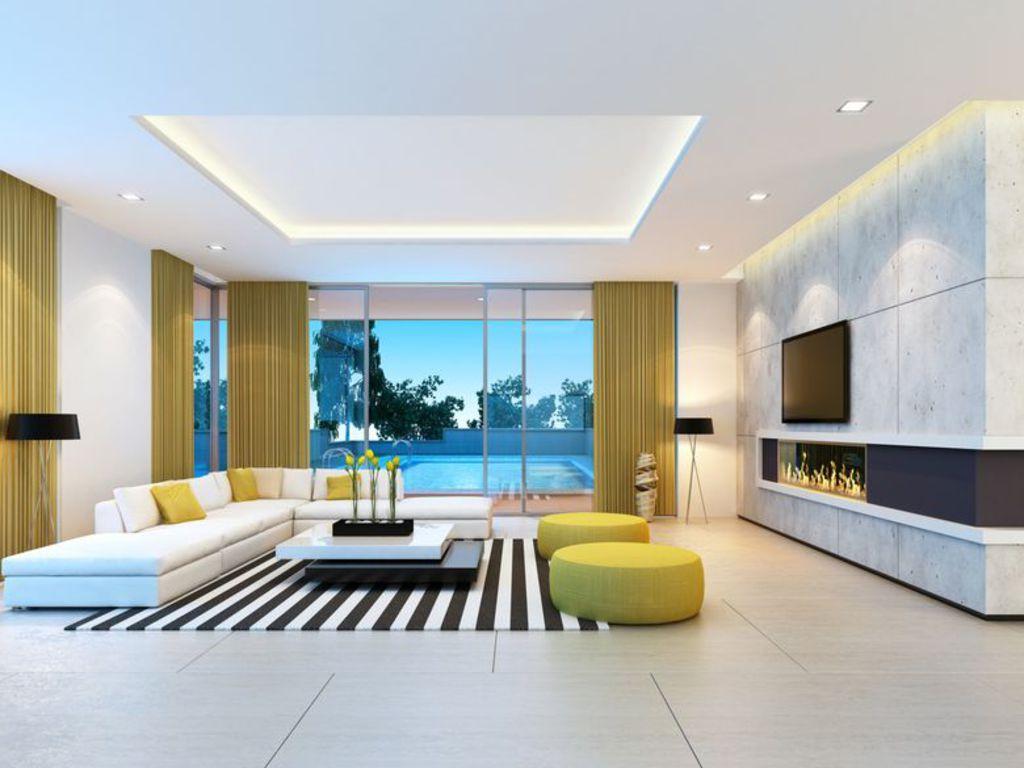 Mes ides lumineuses pour crer un salon moderne
