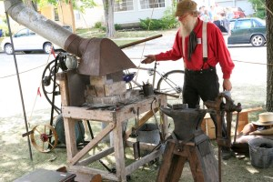 Blacksmithing skills have been passed on for generations