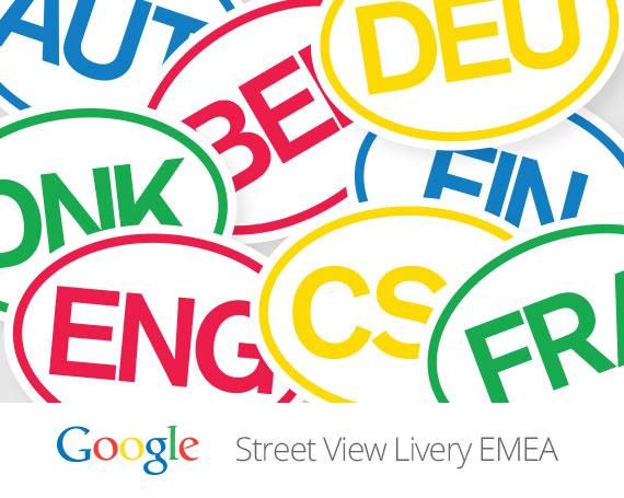 Google – Street View  Car Livery – Global