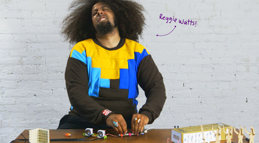 littleBits Synth Kit in collaboration with KORG