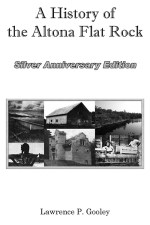 A History of the Altona Flat Rock, Silver Anniversary Edition-Front Cover