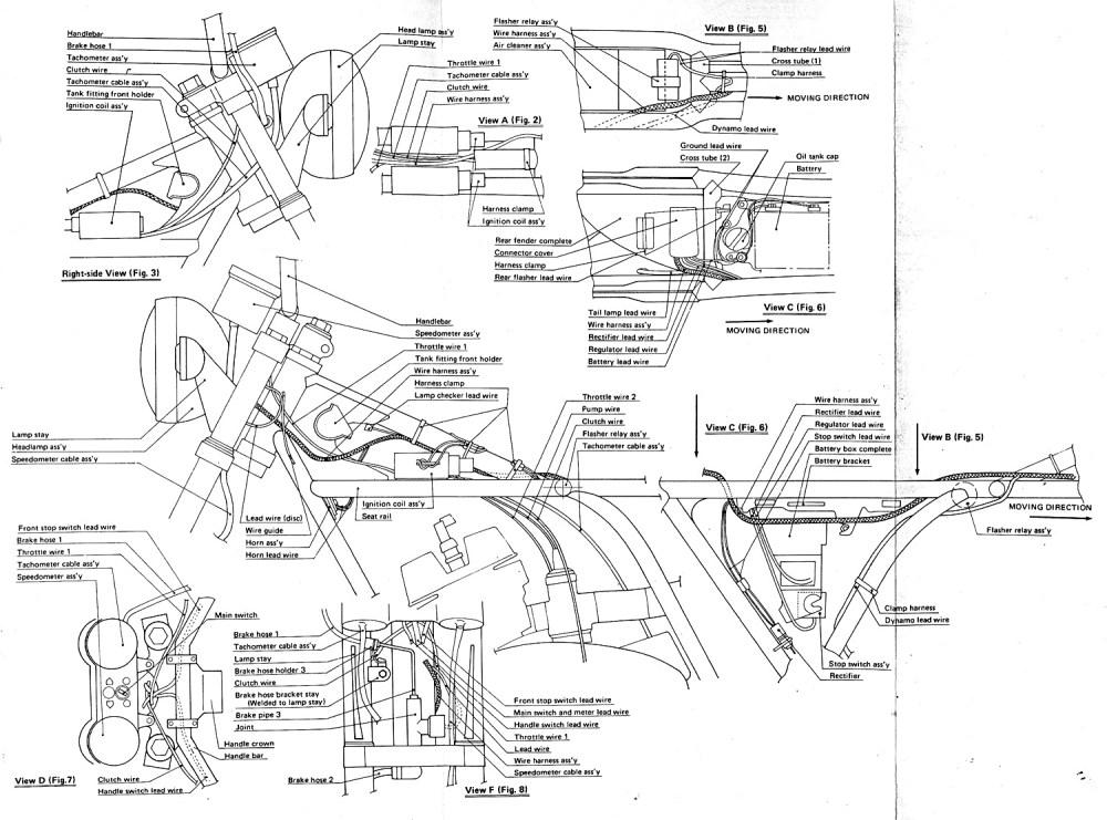 medium resolution of yamaha r5 r5 wiring diagramsr5c wiring harness diagram 2