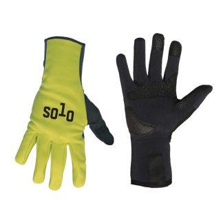 Solo Glove Softshell LF Fluoro Yellow