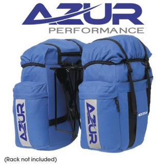 Azur Commuter Rear Pannier Bag Blue Hero