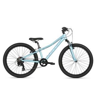 """Haro Flightline 24"""" Kids Mountain Bike 2021 Blue"""