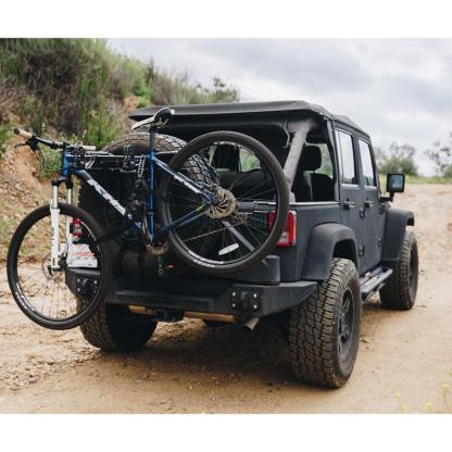 hollywood racks spare tyre bike rack SR1 full right