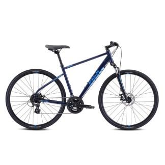 2021 Fuji Traverse 1.5 Hybrid Bike - Blue Hero