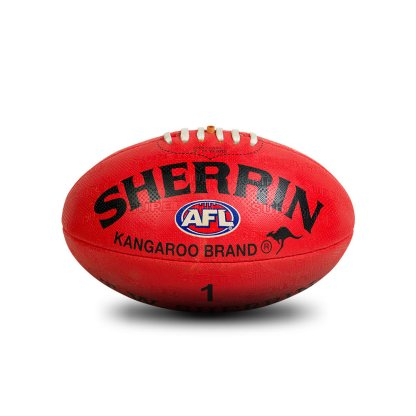 Sherrin KB All Surface Red Football - Size 1 Front